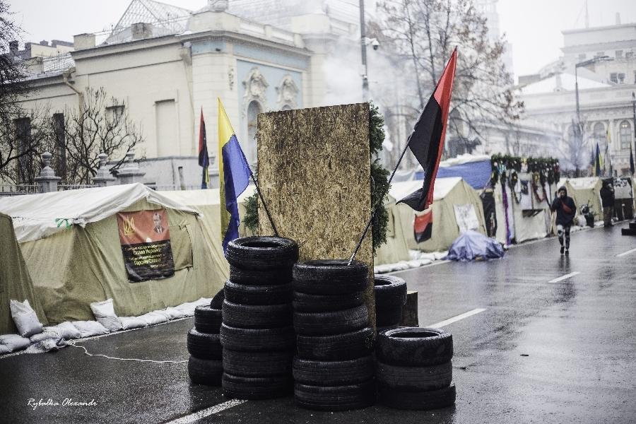 Новорічні протести на Майдані Реформ