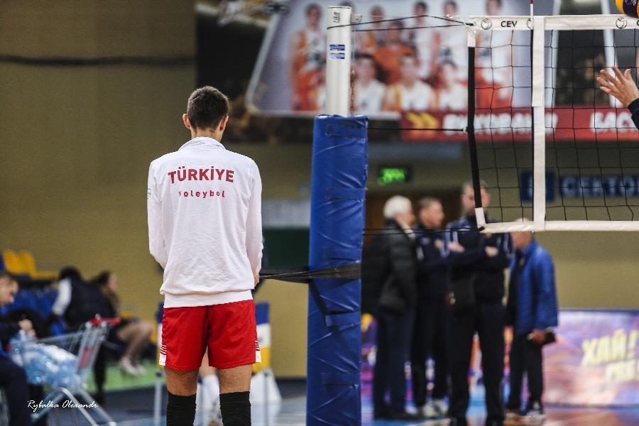 Черкаси волейбольні: Україна–Туреччина