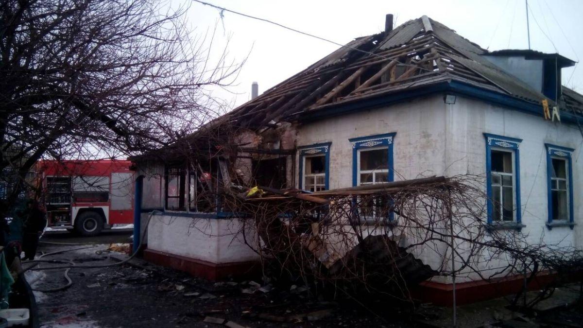 На Золотоніщині пожежа забрала життя батька, матері і сина