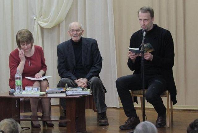 Сергій Носань представив юним читачам свою нову книгу
