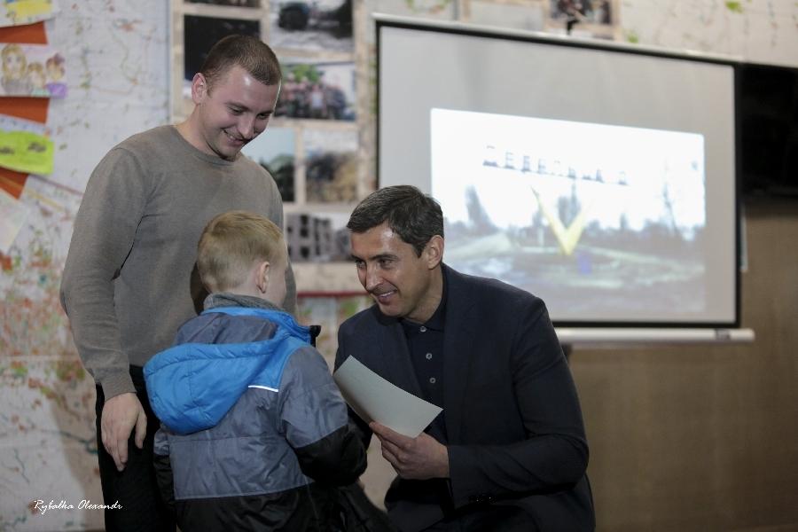 Пам\'ятні заходи «Дебальцевський хрест» у краєзнавчому музеї