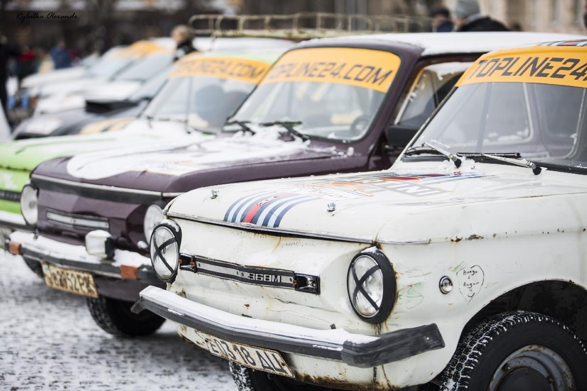 Перший етап ралі на серійних авто «Topline24 Rally» у Черкасах