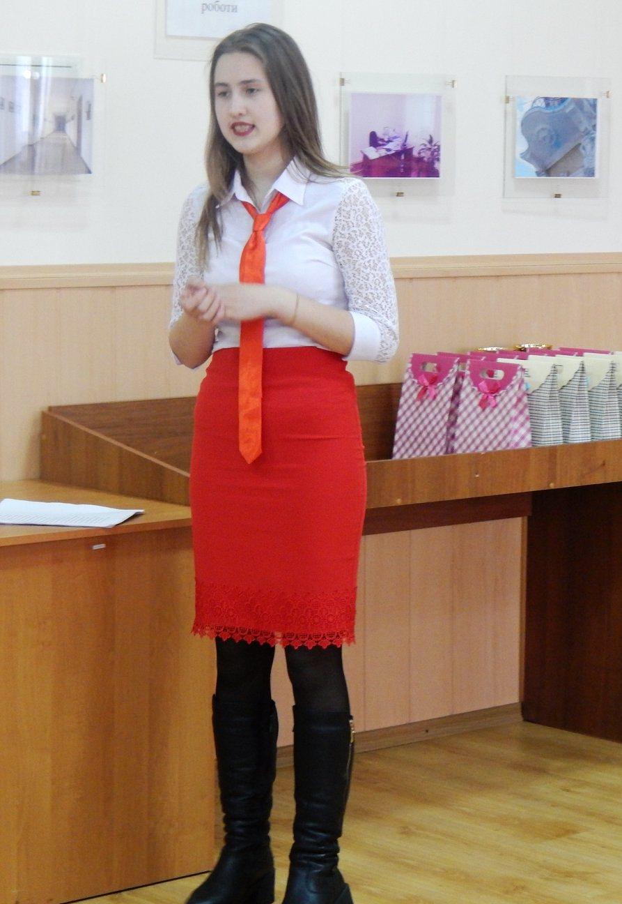 Студентка УДПУ стала переможцем міського конкурсу молодих поетів «Тарасовими шляхами»