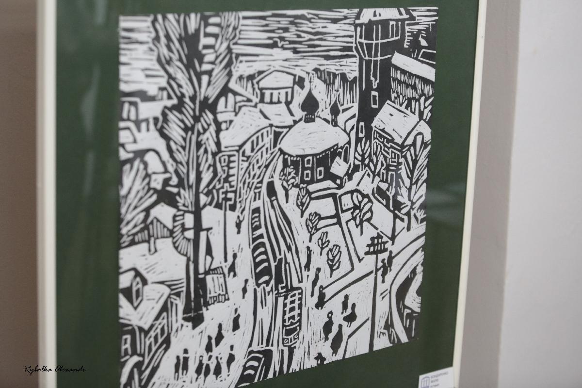 Виставка робіт студентів Черкаського державного бізнес-коледжу