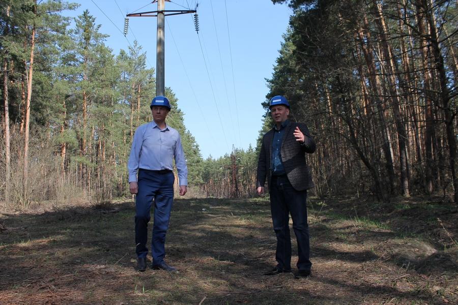 «Черкасиобленерго» розчищає ліс, щоб запобігти аваріям
