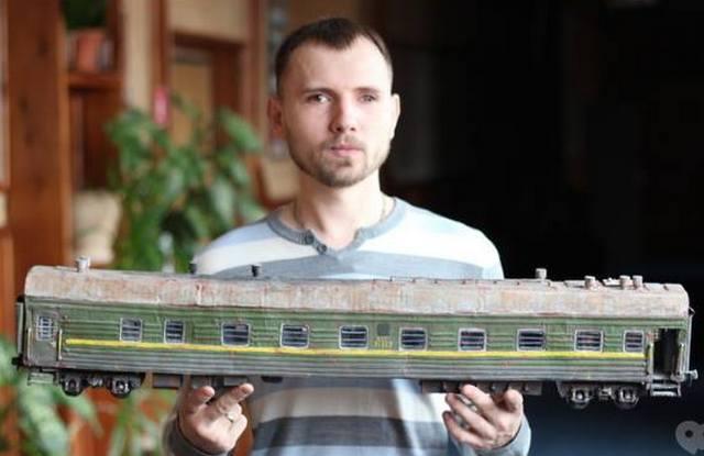 Науковець ЧНУ виготовляє моделі бронетехніки