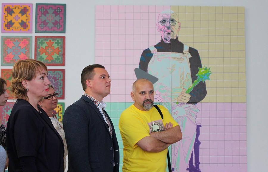 Виставка сучасного мистецтва у Черкаському художньому музеї