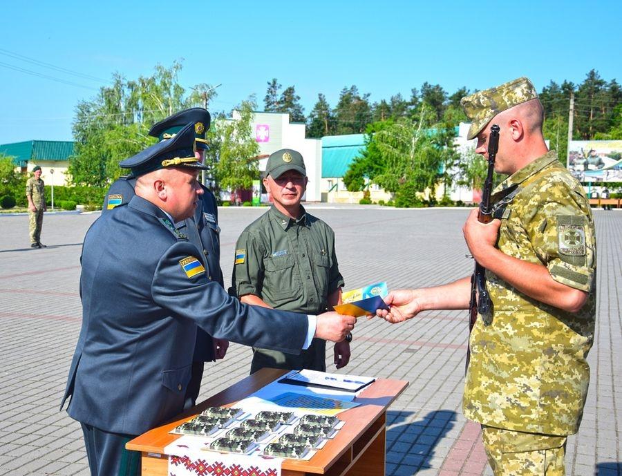 На Черкащині понад 100 військовослужбовців присягнули на вірність українському народові
