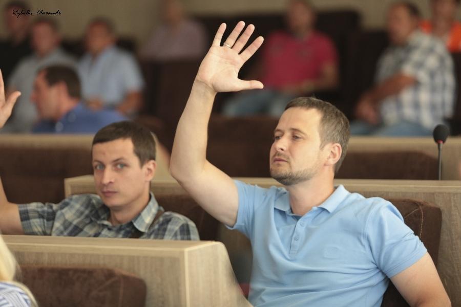 Моменти з сесії Черкаської міської ради