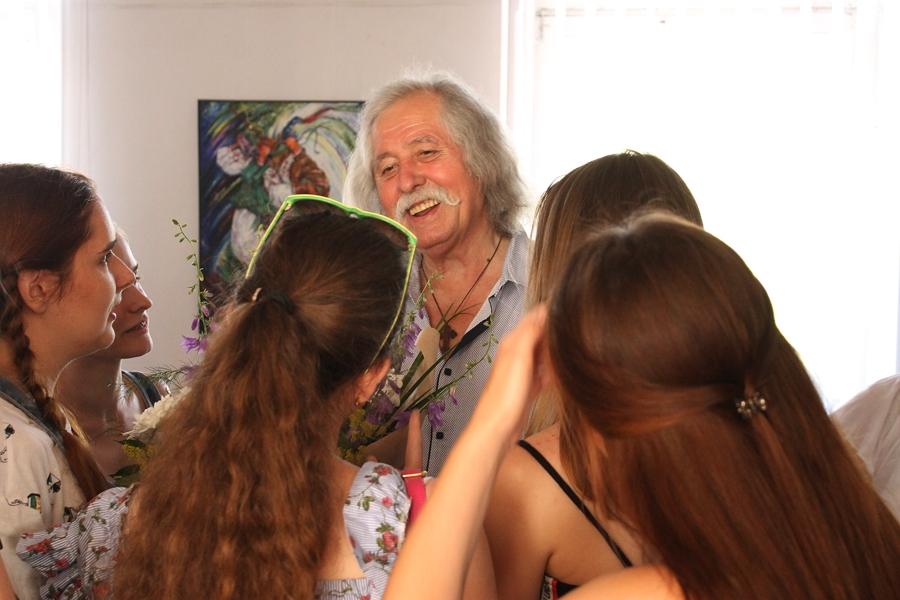 «Молитву за Україну» втілив у своїй виставці художник Іван Фізер