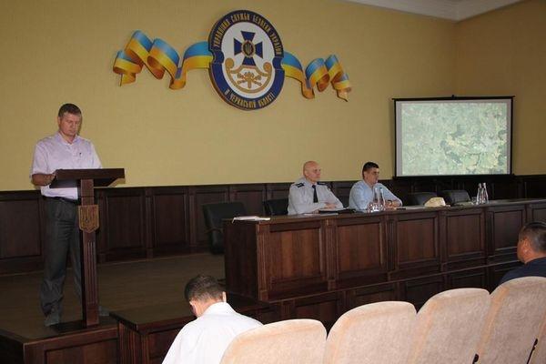СБУ на Черкащині провела командно-штабні навчання