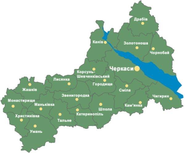 До 65-річчя області черкащани вишиватимуть карту області