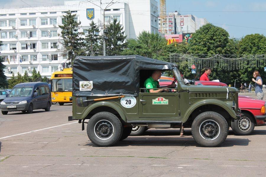 Учасники «Зіркового ралі» проклали маршрут через Черкаси