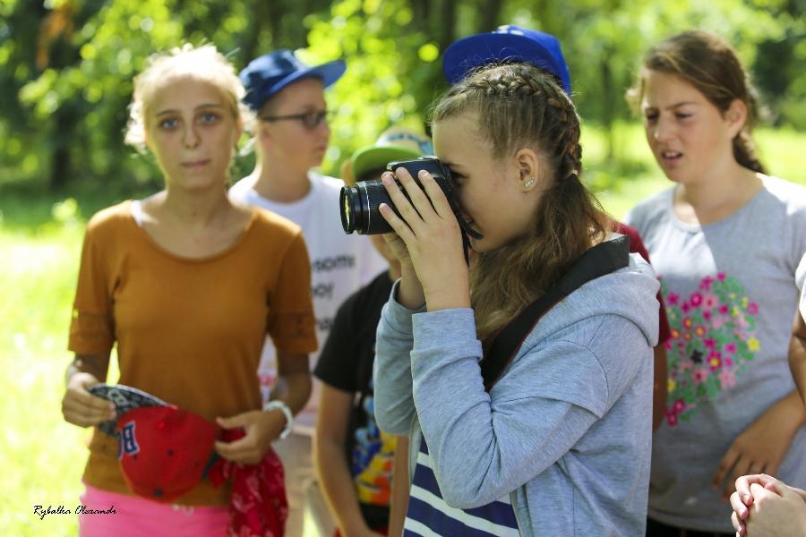 Майстер класи з фотографування в дитячому таборі  «Мрія»