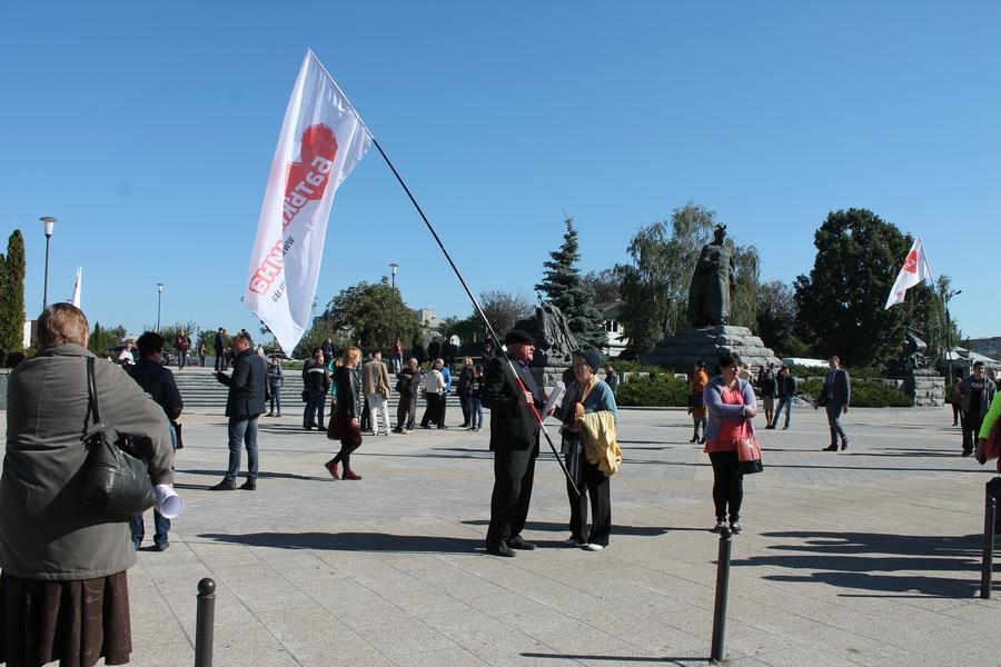 Мітинг під Черкаською прокуратурою