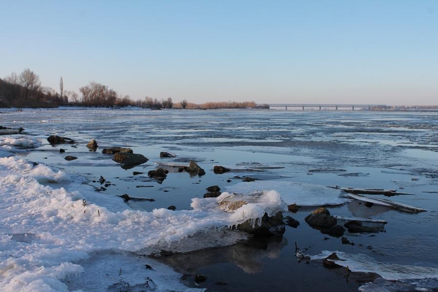 В Черкаси прийшла зима