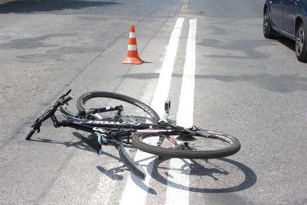 На Черкащині водій збив велосипедиста (ВІДЕО)