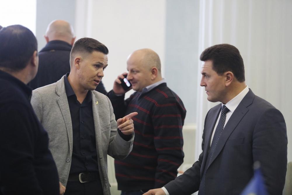 Сесія Черкаської обласної ради 18 грудня