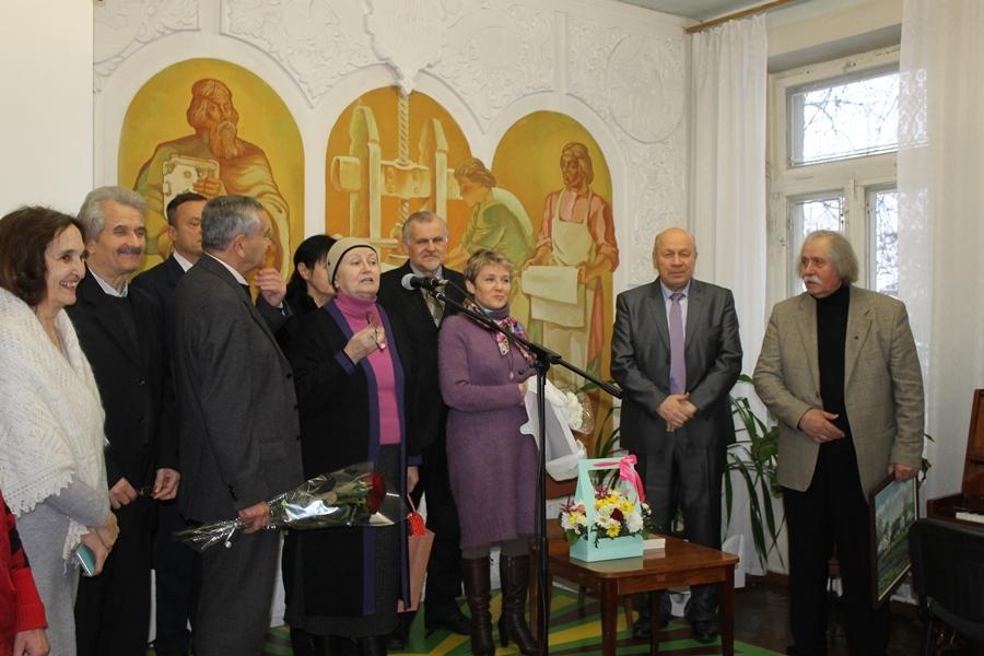 Професора Володимира Поліщука  привітали з ювілеєм на творчому вечорі у бібліотеці