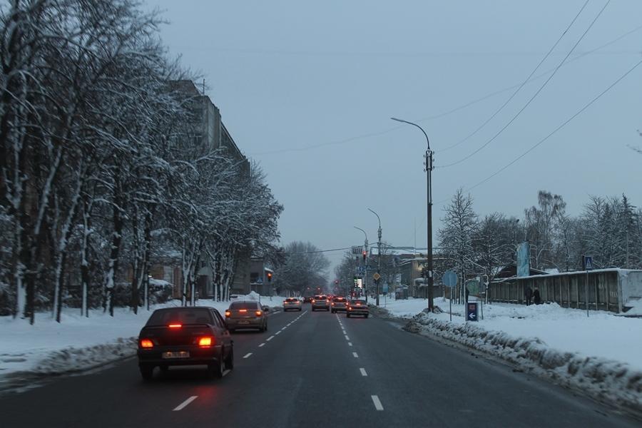 Проїдемося зимовими Черкасами?