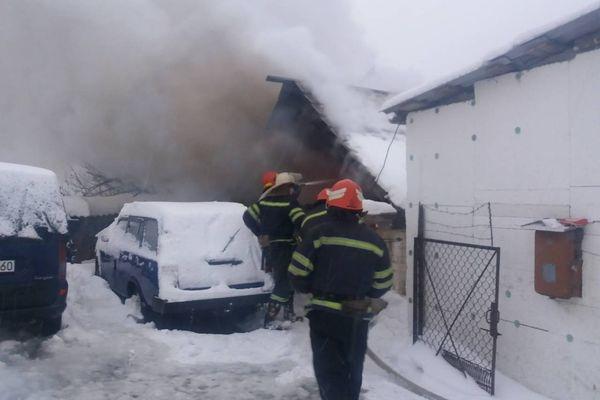 На Золотоніщині згоріла хата (ФОТО)