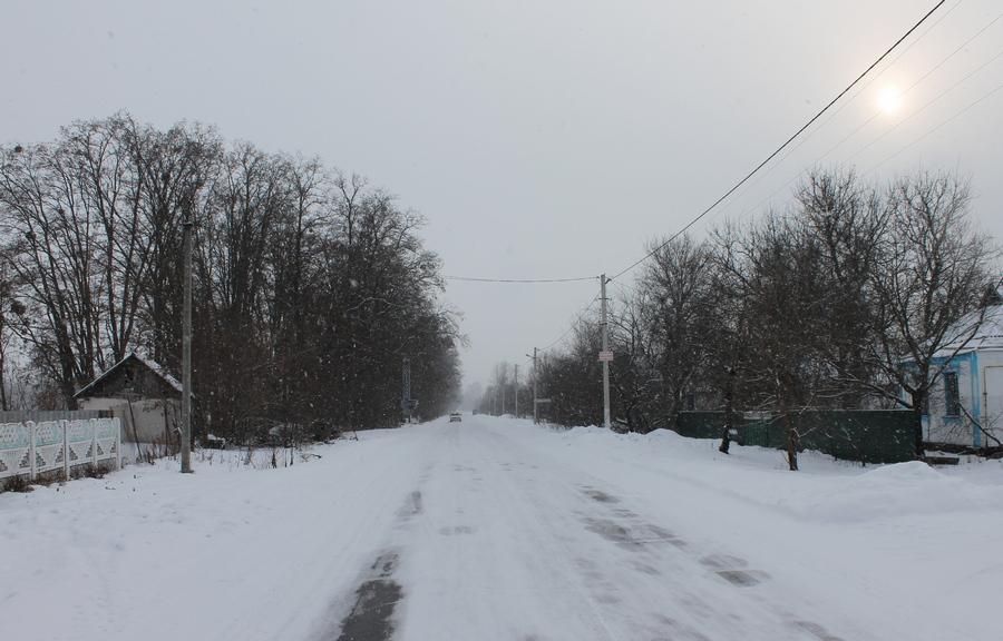 Зимові дороги Черкащини