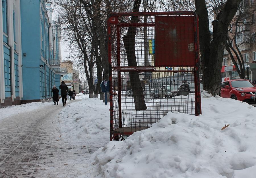Зима на тихих вуличках Черкас
