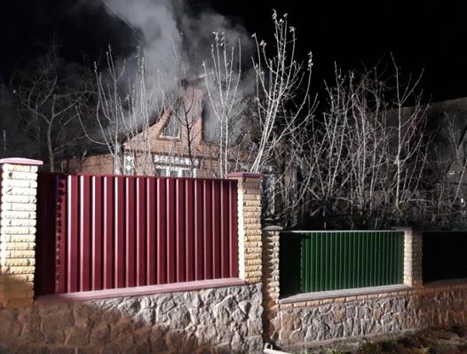 У Жашкові рятувальники ліквідували пожежу житлового будинку