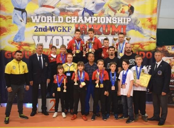 Черкащани вибороли 25 медалей на світовому чемпіонаті годзю-рю карате