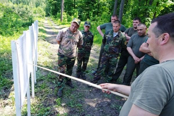 У Смілянському лісгоспі відбувся лісокультурний семінар-практикум
