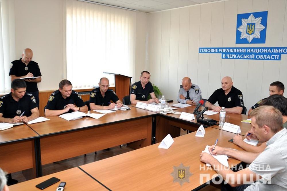 Правоохоронці обговорили порядок і безпеку на виборах