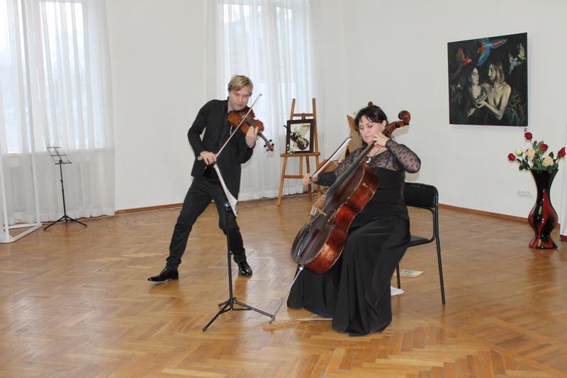 Концерт до 125 річниці черкаського музиканта Мирона Полякіна