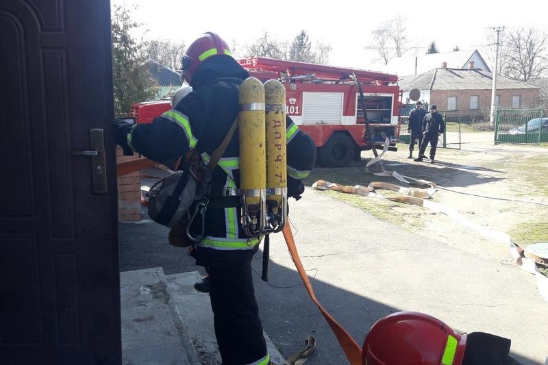 Пожежа в школі, аварія на дорозі та пташиний грип: звенигородські рятувальники тренувалися