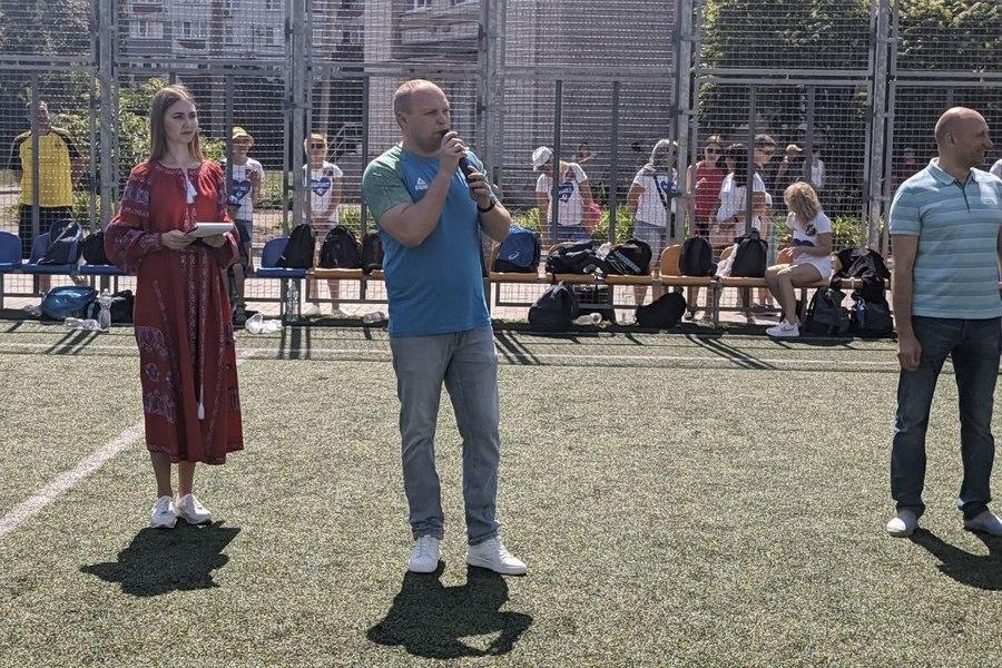 Відкриття футбольного турніру на Кубок міського голови