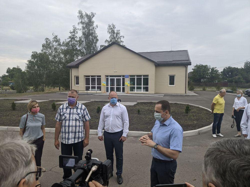 Відкриття амбулаторії в селі Будище