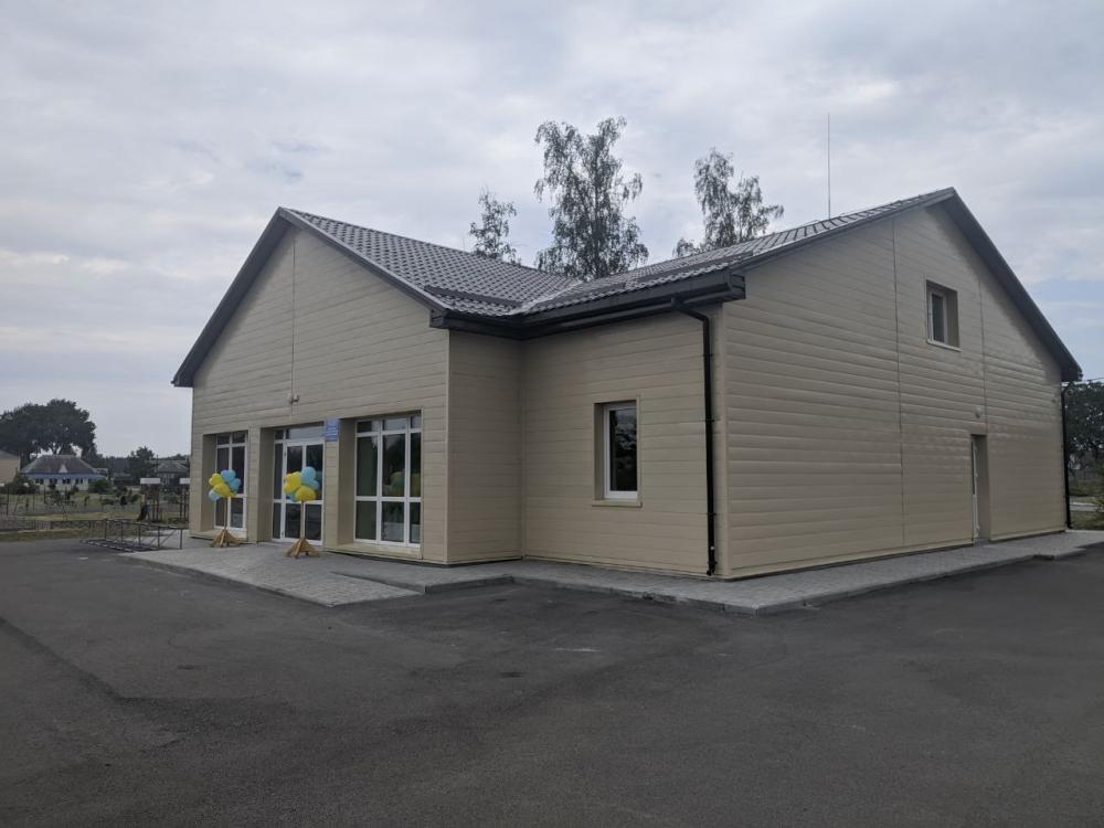 У селі Будище побудували амбулаторію за 5 мільйонів гривень