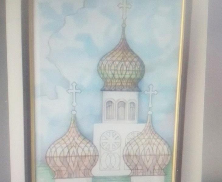 У Черкасах проходить виставка картин художника-переселенця з Донеччини