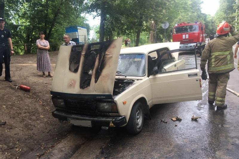 За добу на Черкащині згоріло три машини (ВІДЕО)
