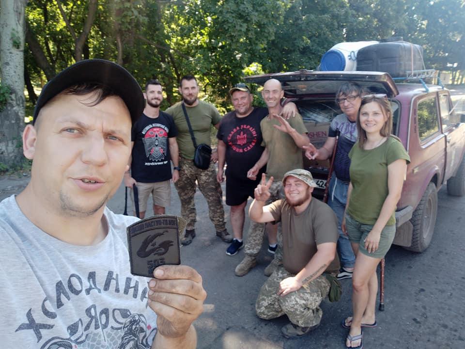 Черкаські волонтери допомагають бійцям у зоні проведення ООС