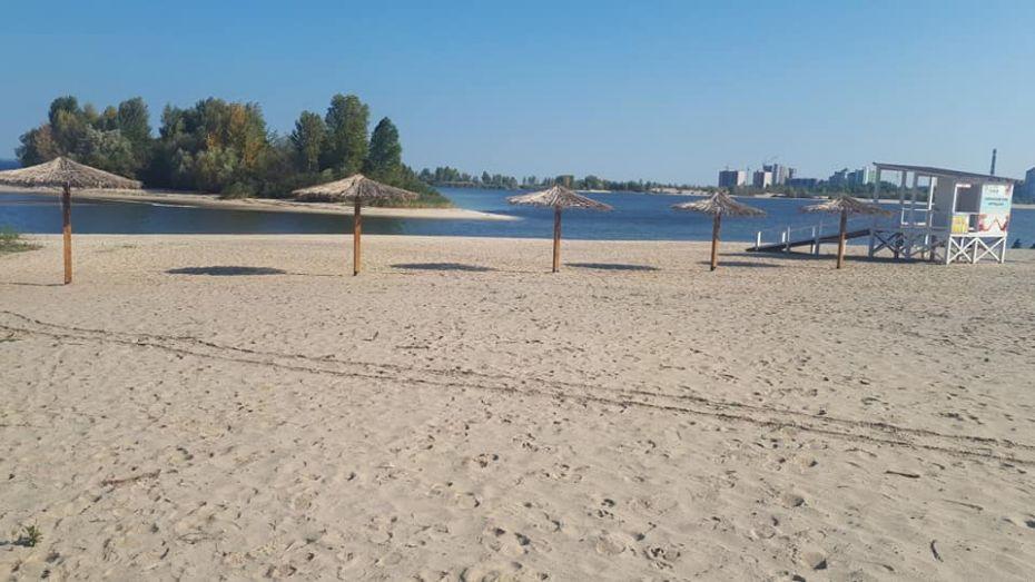 На двох черкаських пляжах небезпечно купатися