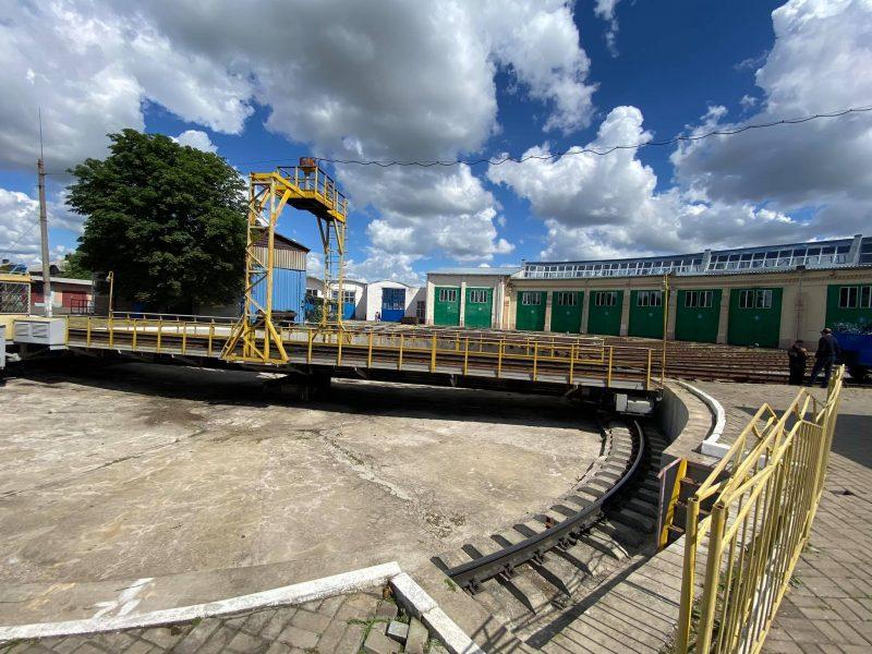 На Христинівщині реорганізують локомотивне депо