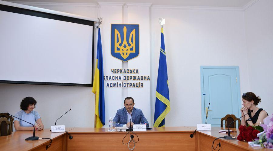 Голова ОДА представив очільниць управління культури та освітньої галузі