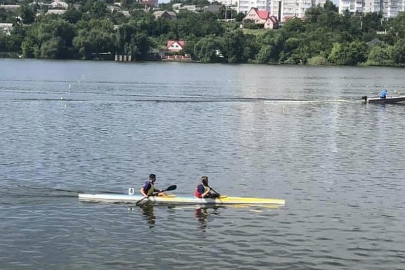 Черкащанин виборов Кубок Хіміча з веслування