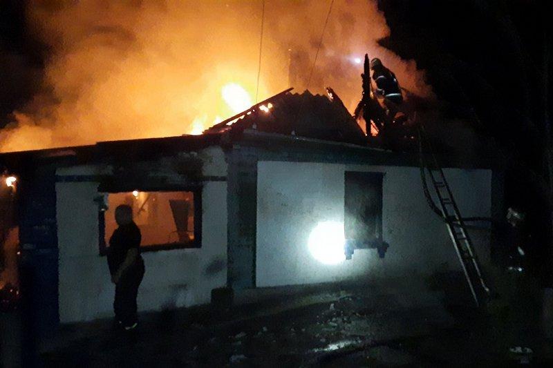На Христинівщині під час пожежі загинув 24-річний чоловік