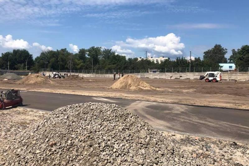 У Черкасах будують новий стадіон