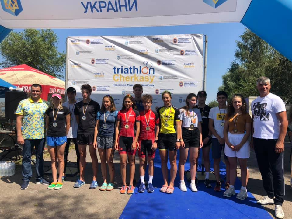 У Черкасах завершився чемпіонат України з триатлону