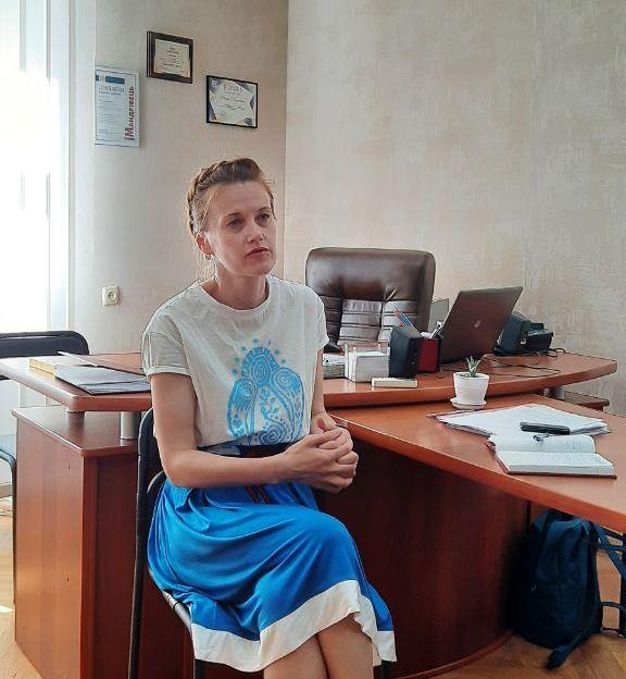 Людмила Фіть розповіла про напрямки роботи на посаді