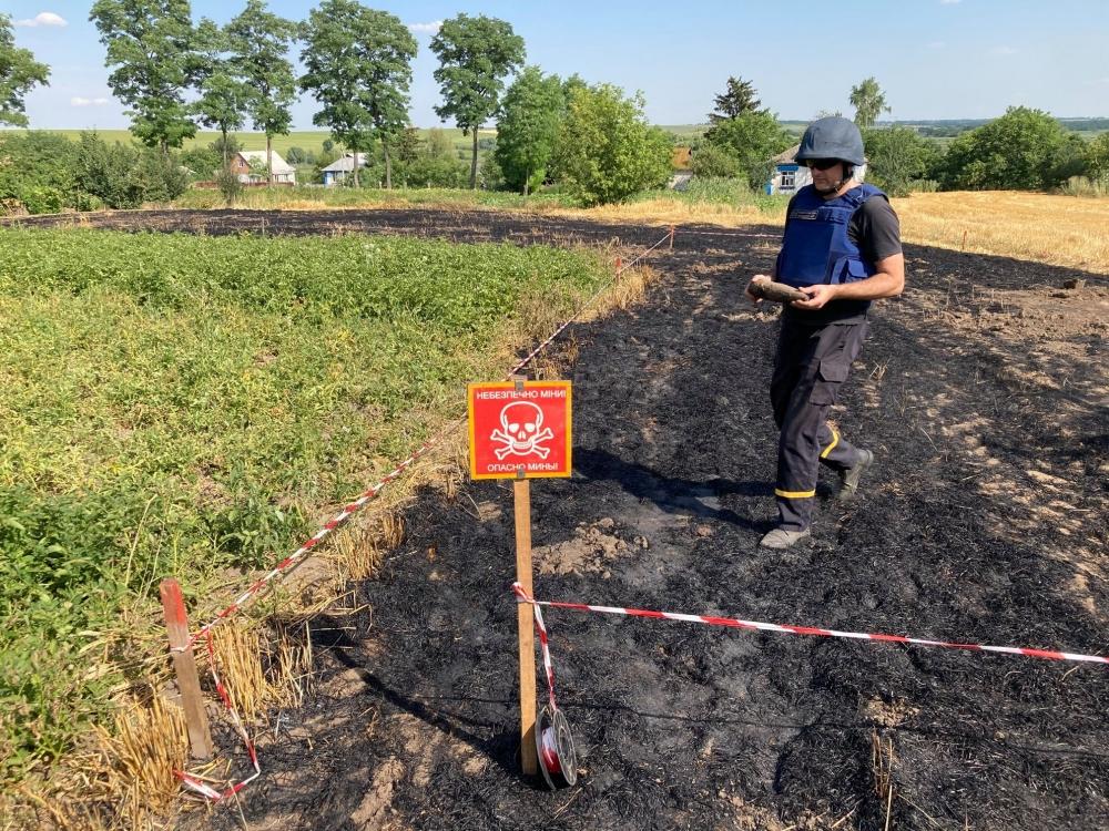 Рятувальники за добу знищили 3 вибухонебезпечні предмети