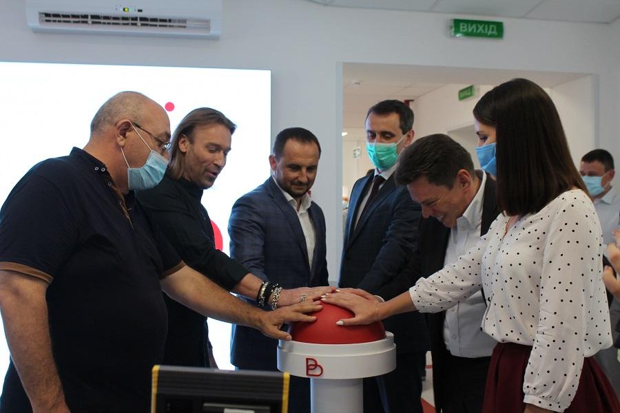 Плазма-центр відкрили в Черкасах (ВІДЕО)