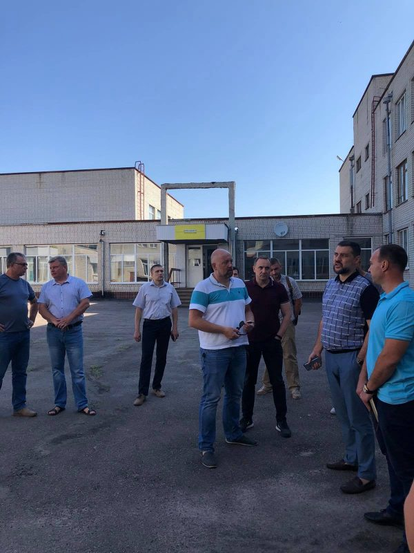 Дмитро Ляшов проінспектував ремонти на об'єктах Чигиринщини